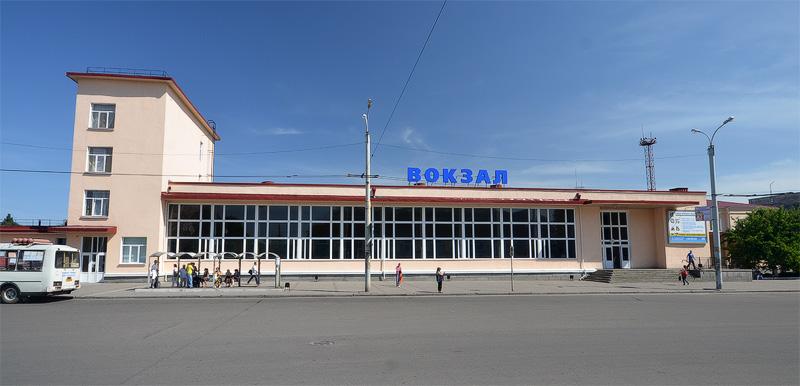 Железнодорожный вокзал Черкассы