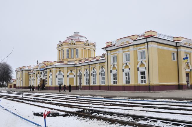 Железнодорожный вокзал Ворожба