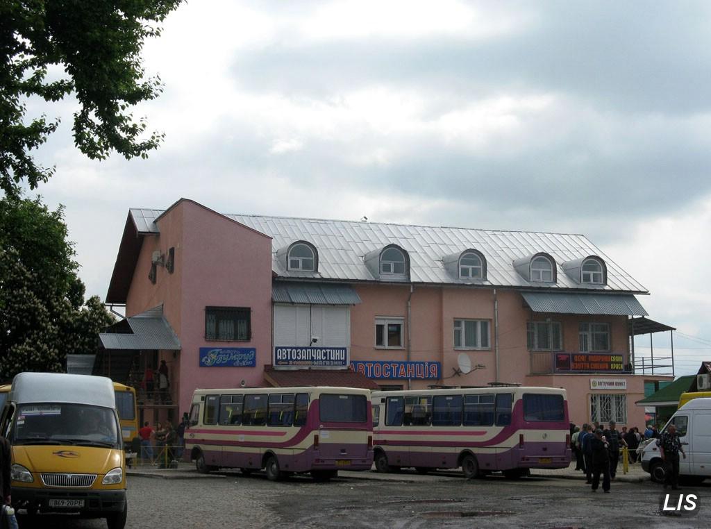 Автовокзал Иршава