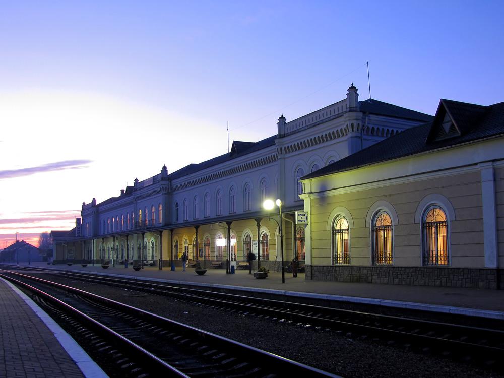 Железнодорожный вокзал Коломыя