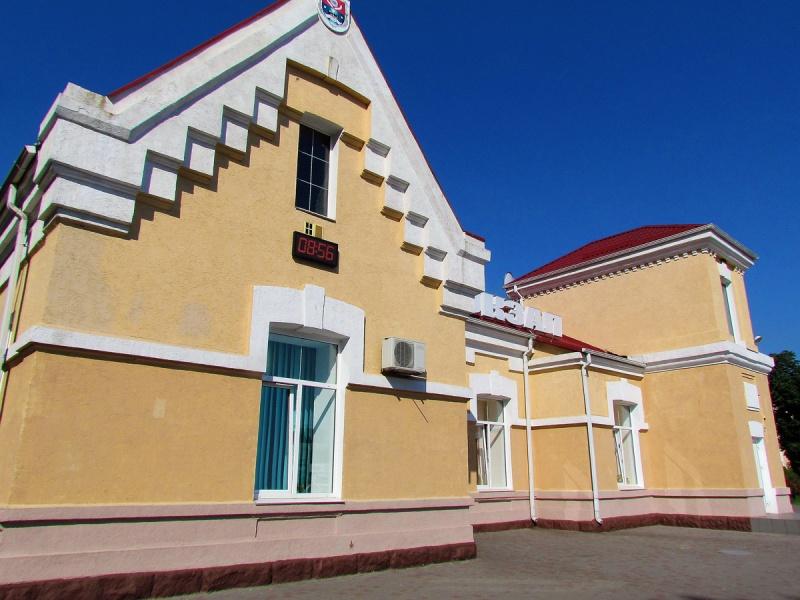 Железнодорожный вокзал Апостолово