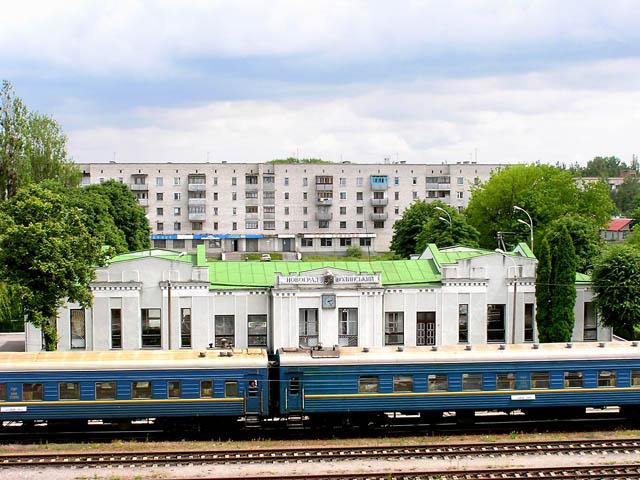 Железнодорожный вокзал Новоград-Волынский