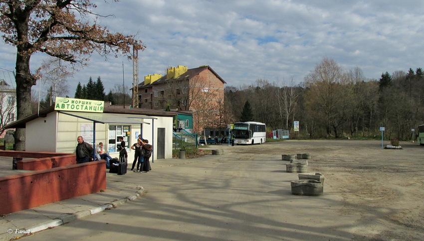 Автовокзал Моршин