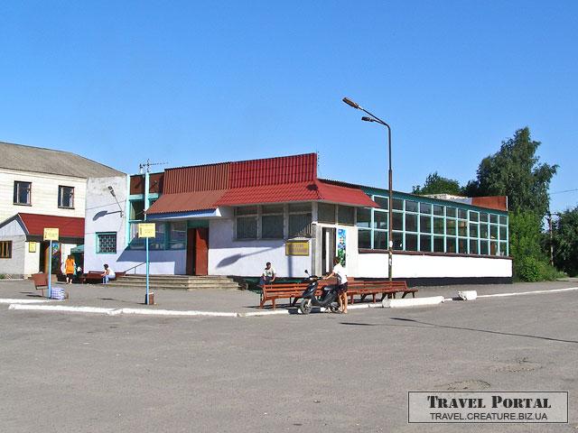 Автовокзал Мурованые Куриловцы