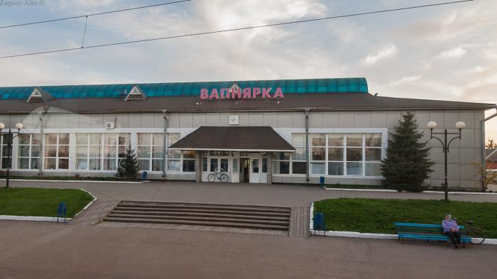 Железнодорожный вокзал Вапнярка