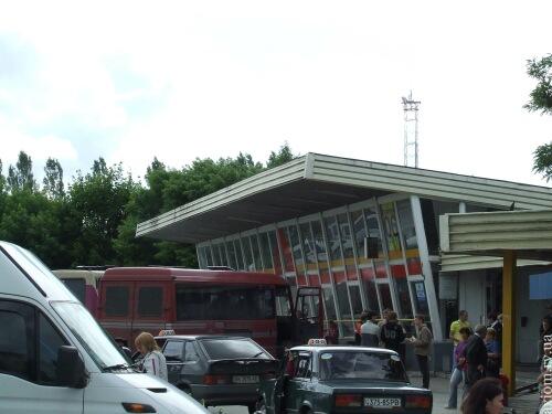 Автовокзал Кузнецовськ