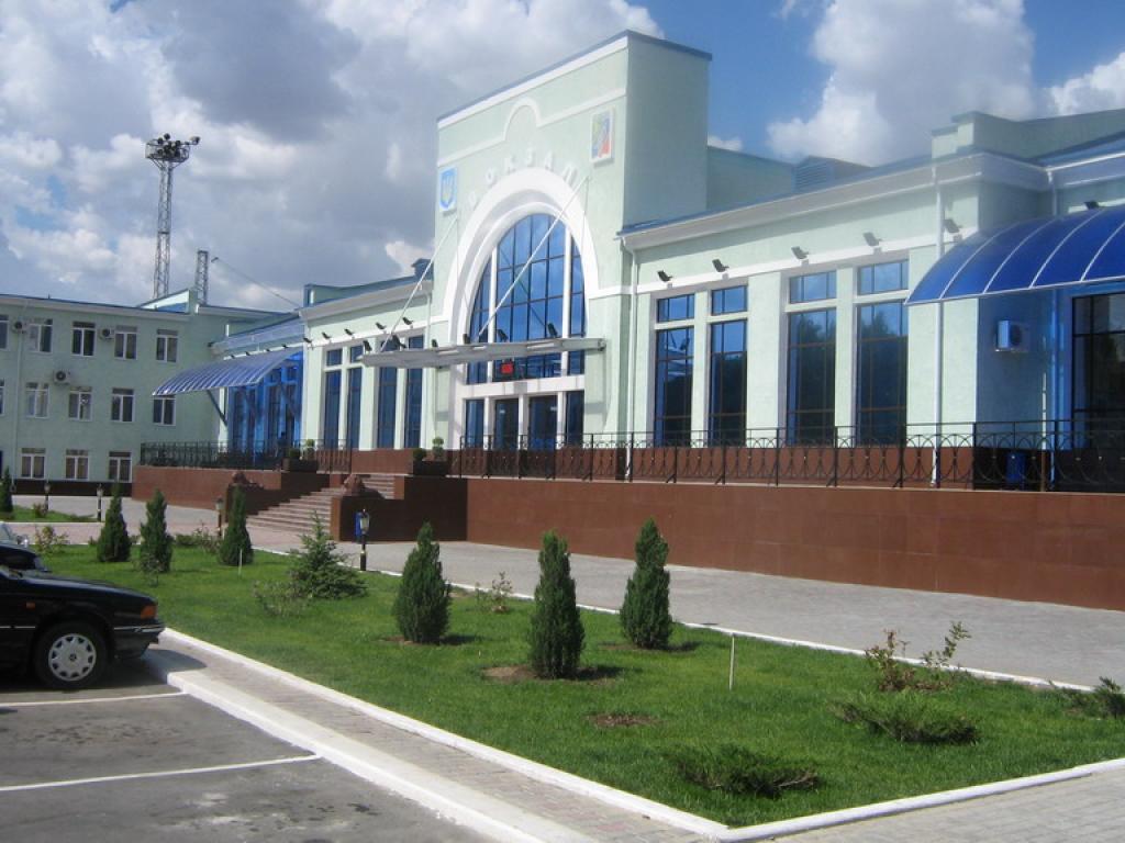 Железнодорожный вокзал Джанкой