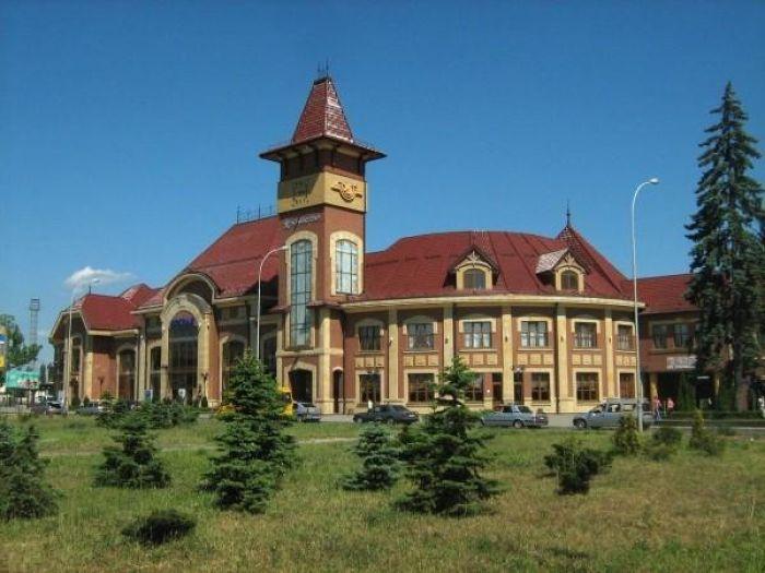 Железнодорожный вокзал Ужгород